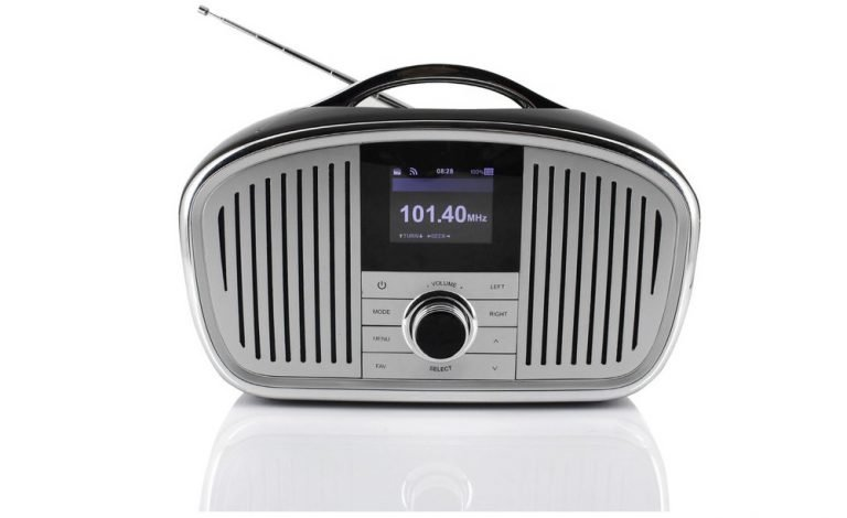 Soundmaster IR4000: Retro-Digitalradio. Bild: Soundmaster