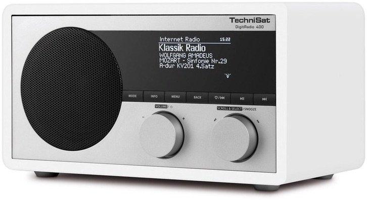 Ein Radio mit UKW- und Digitaltuner sowie Internetradio: Die eierlegende Wollmilchsau – zumindest für zuhause. Bild: Technisat