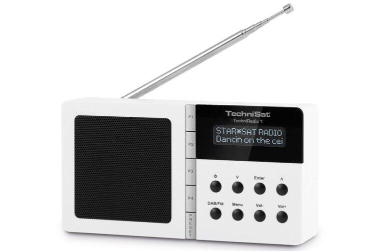 Hübsch muss gar nicht teuer sein. Das TechniSat DAB+ Radio TechniRadio1 gibt es schon ab 40 Euro. Bild: Technisat
