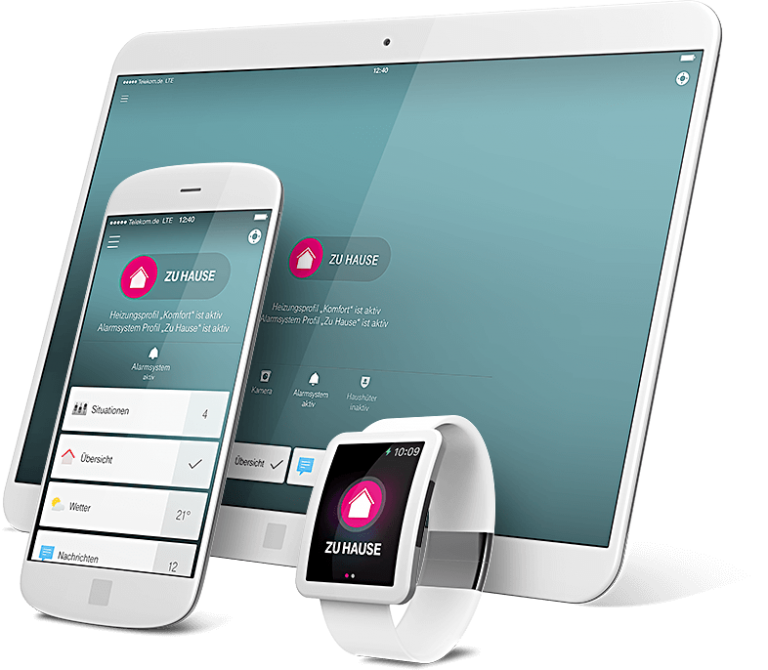 Die App ist auf verschiedenen Plattformen verfügbar. (Foto: Deutsche Telekom AG)