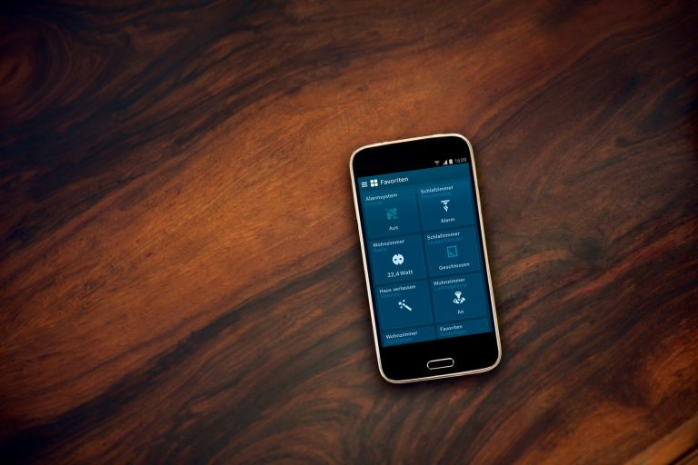Dreh- und Angelpunkt: Die App. (Foto: Bosch)