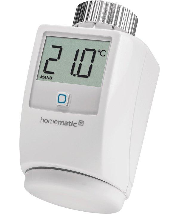Dieses Thermostat von HomeMatic IP wird unterstützt. (Foto: HomeMatic)