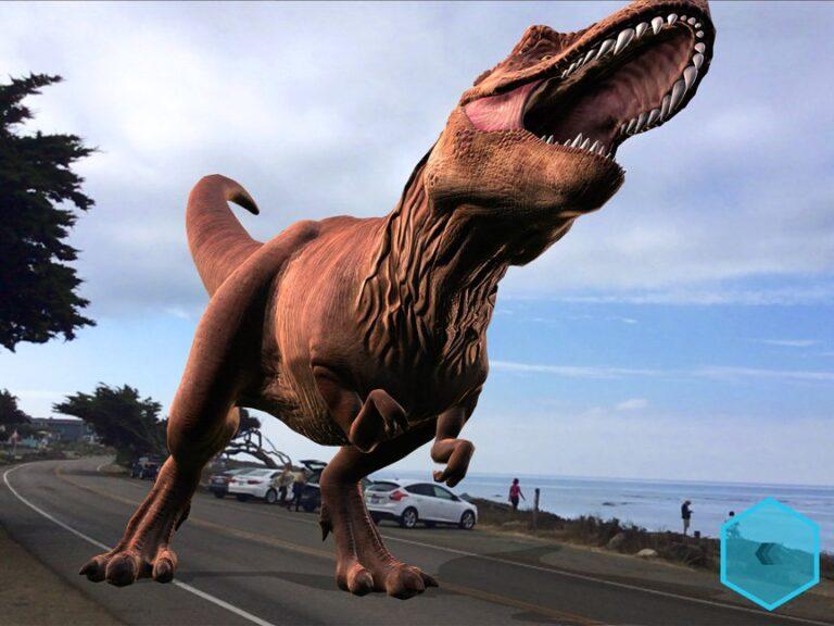 Dinos werden lebendig. (Foto: Apple)