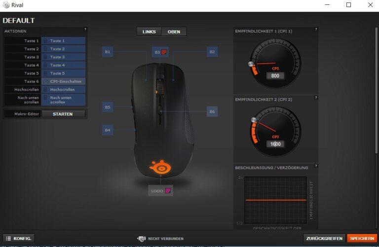 Treibersoftware bietet meist mehr Optionen. (Foto: Screenshot)