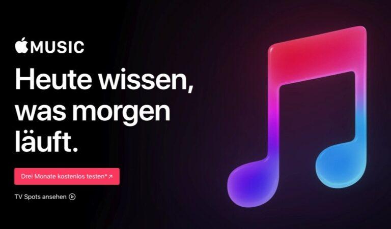 Apple Music: Erfolgreicher Spätzünder