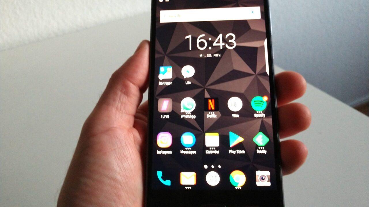 Blackberry Motion im Test: Sicher, wertig, konservativ