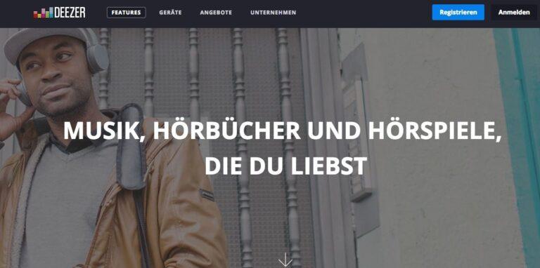 Deezer: Weltweit operierender Spotify-Konkurrent