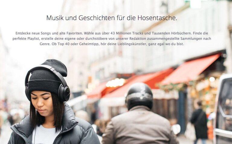 Deezer-Werbung: Bietet euer Wunschdienst mehr als nur Musik? Achtet auf die Extras!