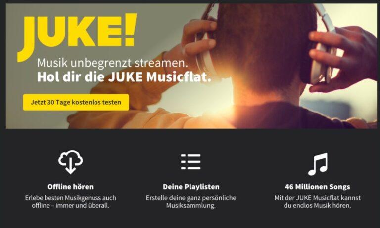 Juke: Einst mit TV-Serien, jetzt nur noch Musik