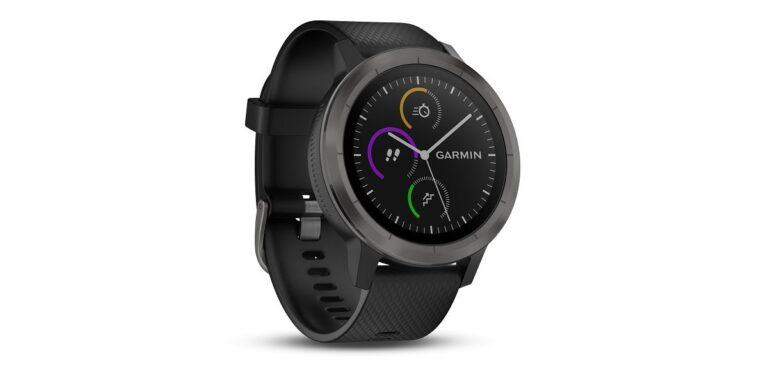 Die GPS Smartwatch Garmin vívoactive 3