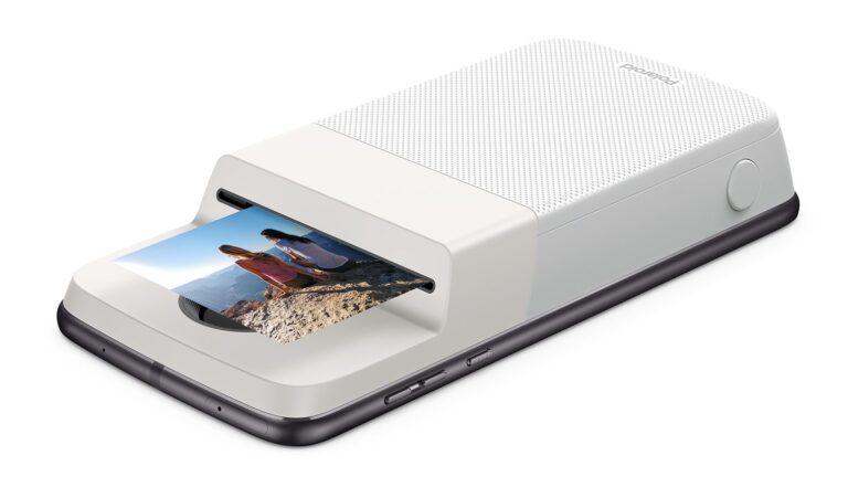 Das Polaroid Insta Share Moto Mod