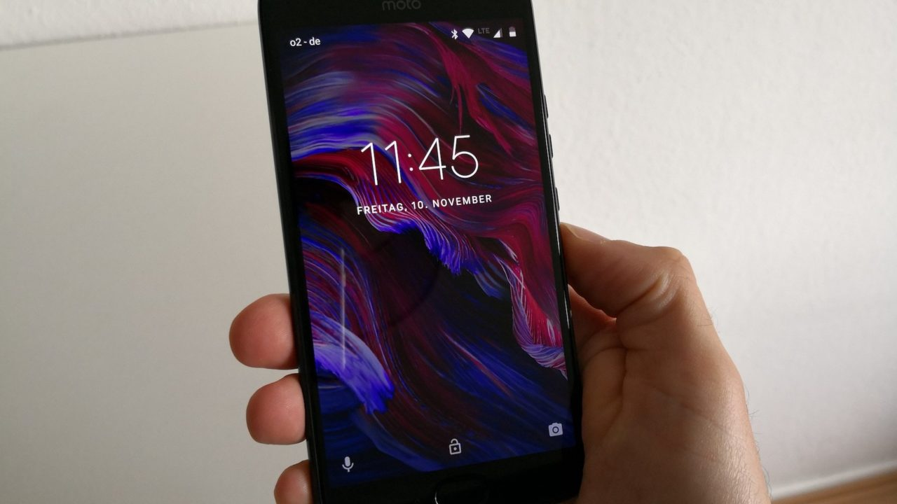 Motorola Moto X4 im Test: Ach, ich mag das eigentlich