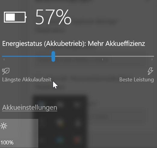 Nur ein Schieberegler? (Foto: Screenshot)