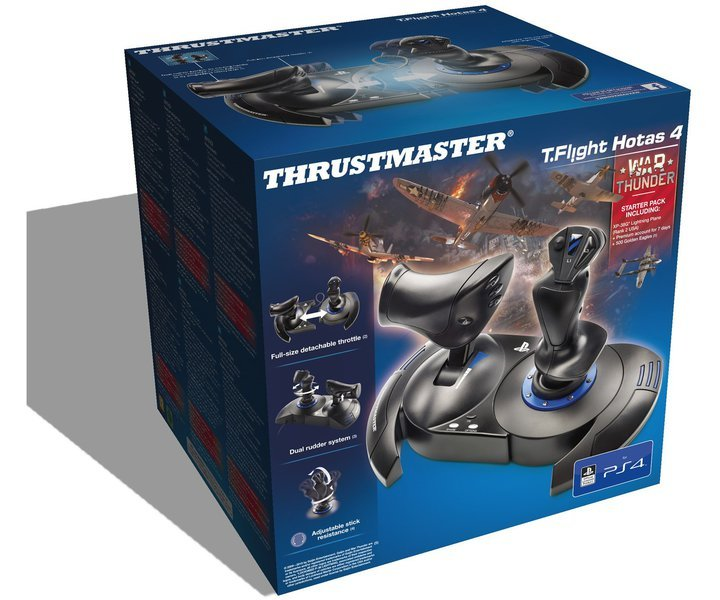 Ein großer Joystick - ideal für Simulatoren. (Foto: Thrustmaster)