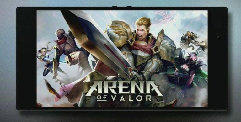 Arena of Valor unterstützt das Razer Phone. (Foto: Razer)