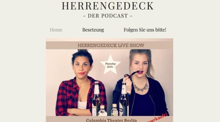 Podcast-Empfehlung: Herrengedeck