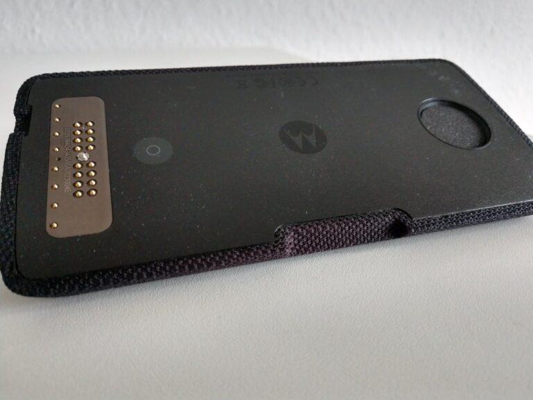 Moto Smart Speaker mit Alexa Mod