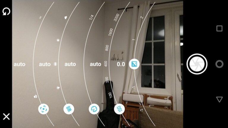 Der Profimodus der Moto-Kamera erlaubt auch selektive Schärfe.