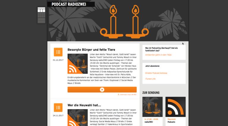 Podcast-Empfehlung: Radio Zwei