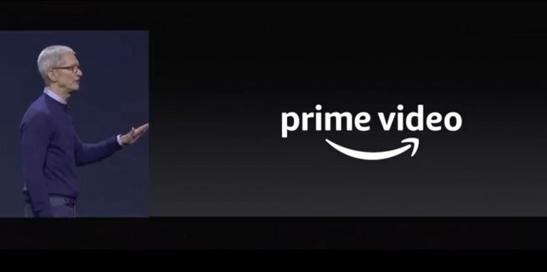 Tim Cook kuendigt prime Video fuer Apple TV an