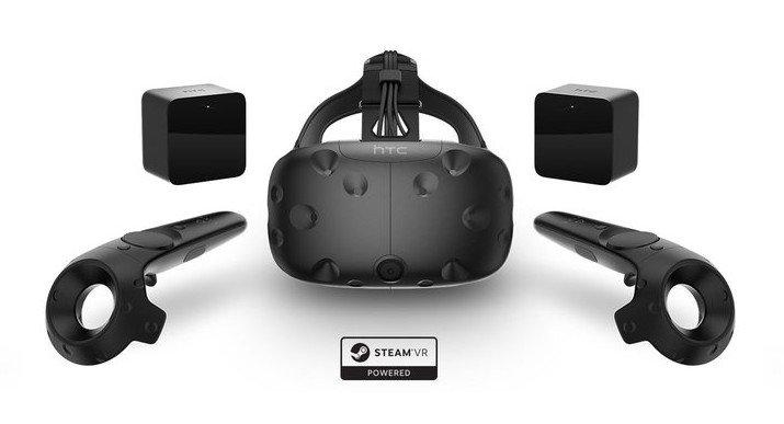 VR-Spielerei mit der HTC Vive - ein nettes Geschenk für mich selbst. (Foto: HTC)