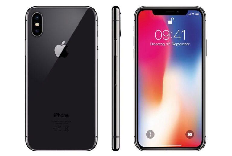 Smartphones sind das Schweizer Taschenmesser des digitalen Zeitalters geworden. Teurere Geräte, wie hier das iPhone X, begleiten uns idealerweise ein paar Jahre länger als Billigmodelle.
