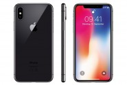 Apple iPhone X (64GB) spacegrau
