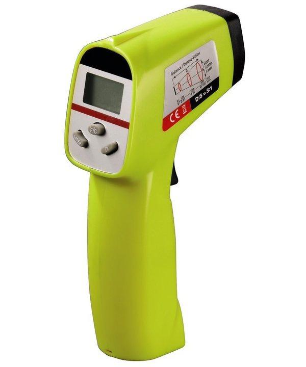 Ein Phaser? Leider nur ein Infrarot-Thermometer. (Foto: XavaX)