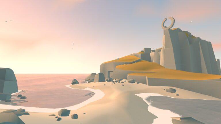 Einzigartige Gebiete in Land's End. (Foto: ustwo games)