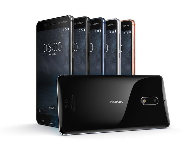 Das Nokia 6. (Foto: Nokia)