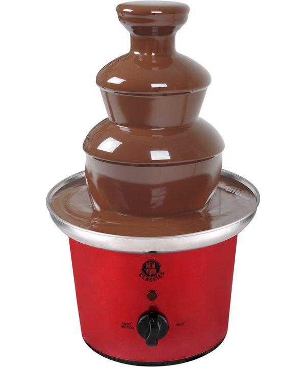 Sieht nicht nur lecker aus - der Schokoladenbrunnen. (Foto: Kalorik)