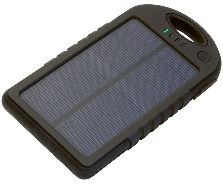 Praktisch: Die Solar-Powerbank von iconBit. (Foto: iconBit)