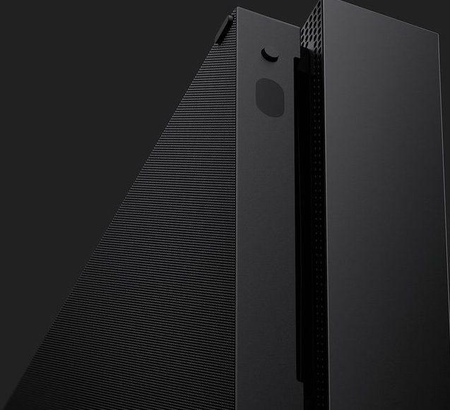 Sieht schon edel aus - die Xbox One X. (Foto: Microsoft)