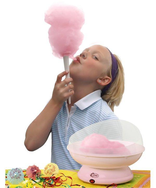 Ein Zuckerwatte Maker für die ganze Familie. (Foto: Bestron)