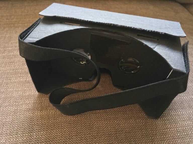 Google Cardboard VR-Halterung