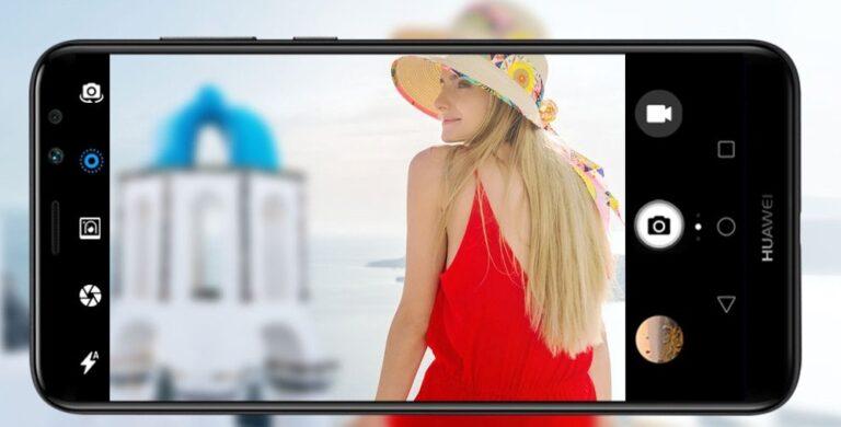 Huawei Mate 10 Lite Dual-Frontkamera mit Bokeh Effekt