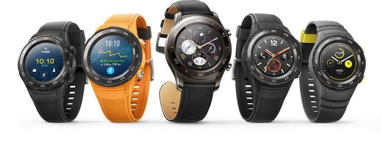 Huawei Watch 2. Bild: Huawei