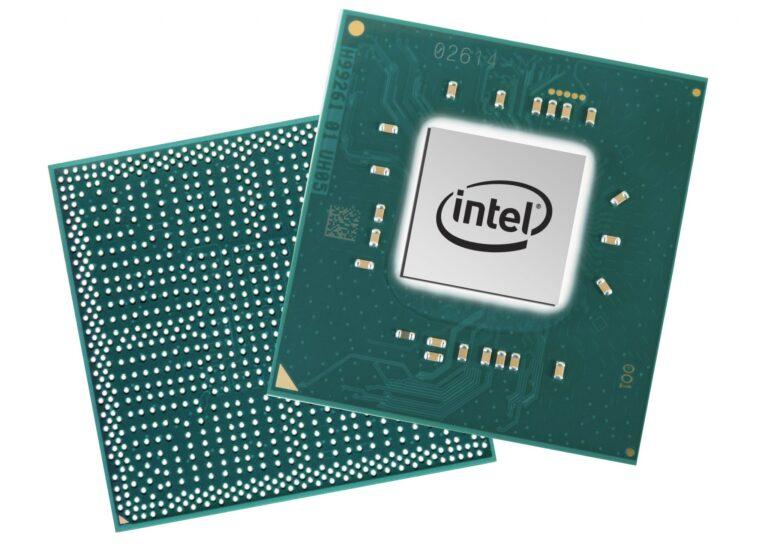 Intel Pentium Silver und Celeron-Chip