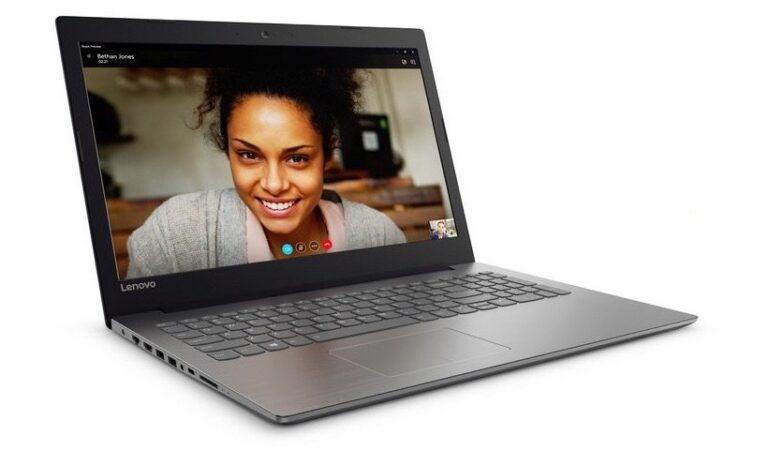 Selbst ein vergleichsweise einfacher Klapprechner wie das Lenovo IdeaPad 320 ist heute schlank. Apples Verdienst? Bild: Lenovo