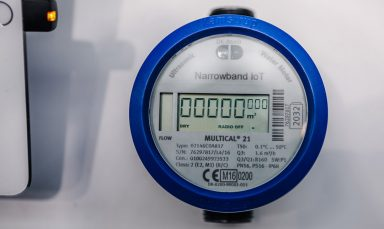 Der Mobilfunker O2 bietet bereits einen Wasserzähler an, der über Narrowband-IoT funkt (Bild: O2)