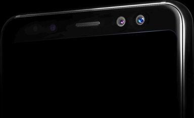 Das Samsung Galaxy A8 verfügt über Dual-Frontkameras