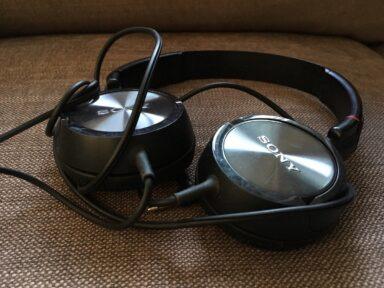 Sony Bügelkopfhörer