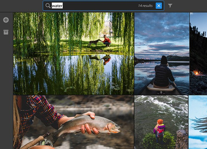 Adobe Lightroom (CC) kann beim Fotos sortieren auch zur Seite stehen. (Foto: Adobe)