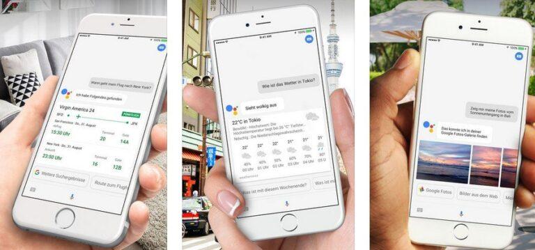 Den Google Assistant unter iOS aktivieren. (Foto: iTunes)