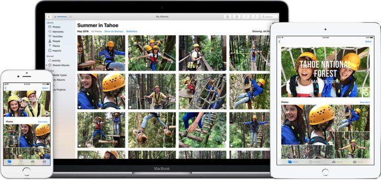 Die iCloud Fotomediathek hilft beim Fotos sortieren. (Foto: Apple)
