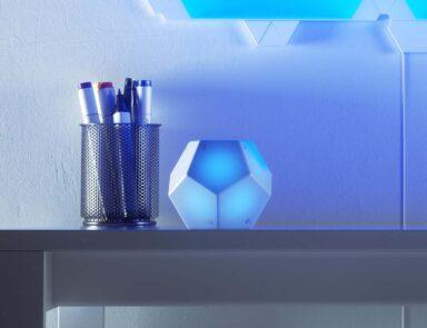 Eine neue Art der Smart Home Steuerung. (Foto: Nanoleaf)