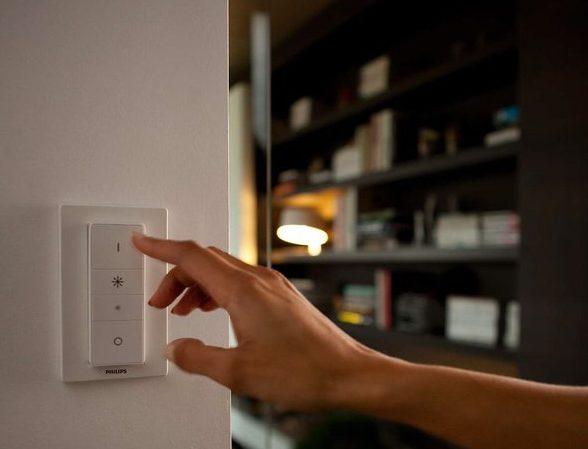 Für Philips Hue gibt's auch Schalter. (Foto: Philips)