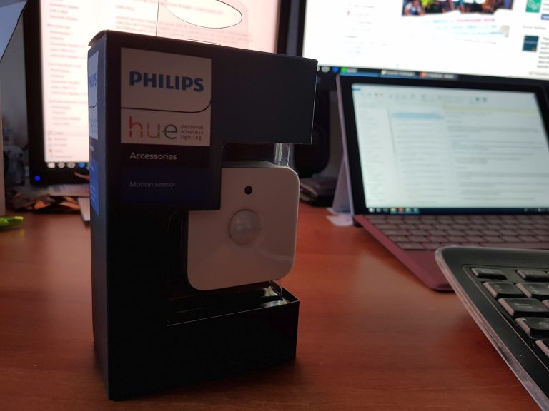 Der Philips Hue Motion Sensor. (Foto: Sven Wernicke)