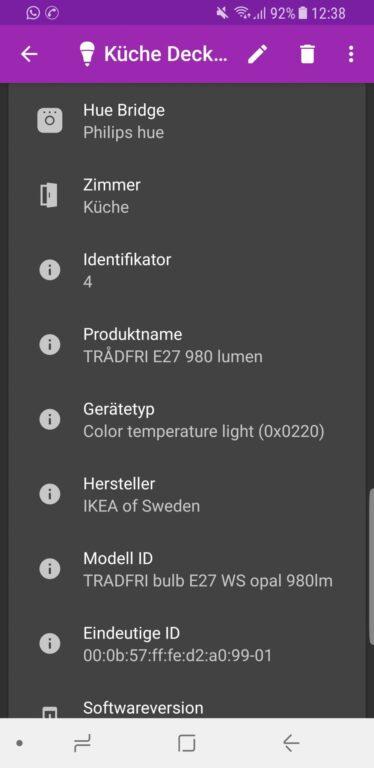 Die App Hue Essentials ist wirklich hilfreich. (Foto: Screenshot)