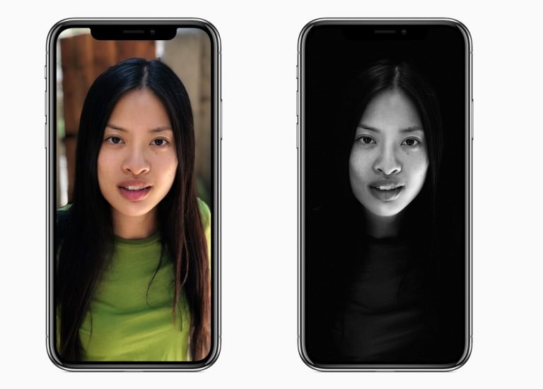 Das gleiche Motiv –ein völlig anderer Hintergrund. Etwas wie das Porträtlicht, das Apple hier der Frontkamera des iPhone X (und auch des iPhone 8 Plus!) spendiert, hat Samsung im Galaxy S9 nicht zu bieten.